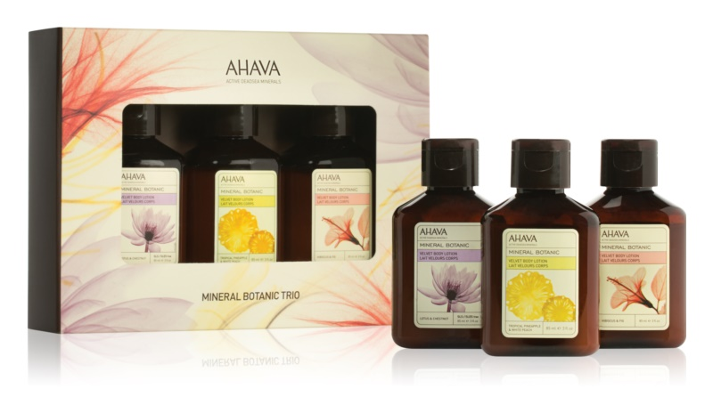 Ahava Mineral Botanic kozmetični set I.
