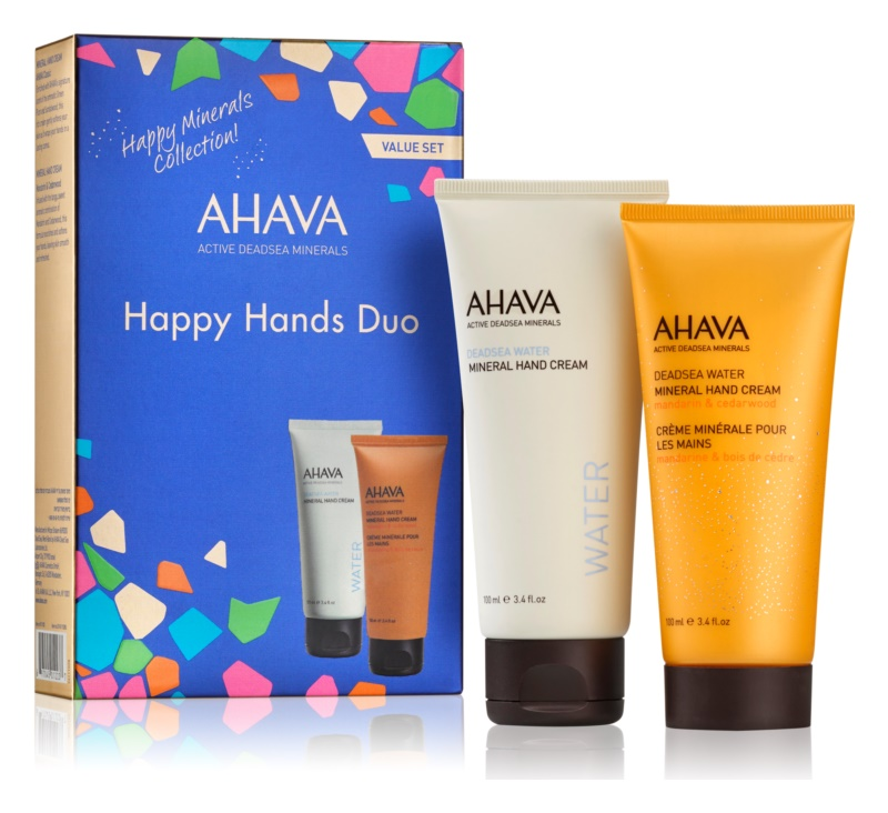 Ahava Dead Sea Water Happy Hands DUO Kosmetik-Set  I.