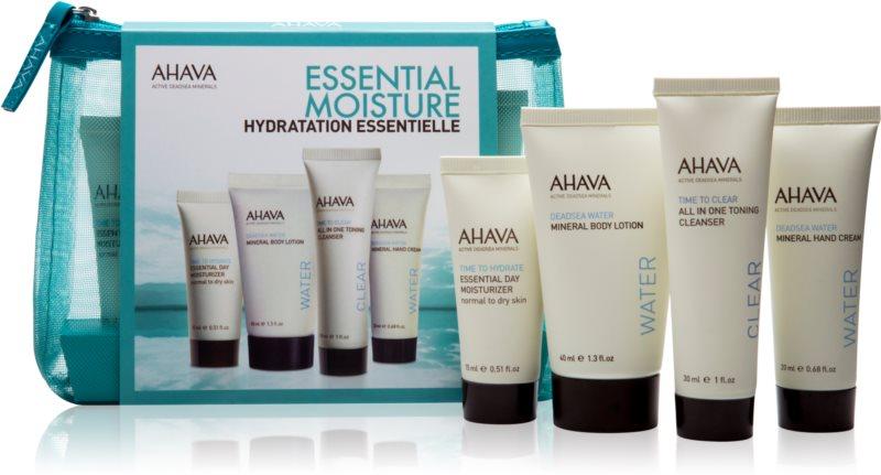 Ahava Essential Moisture cestovní sada I.