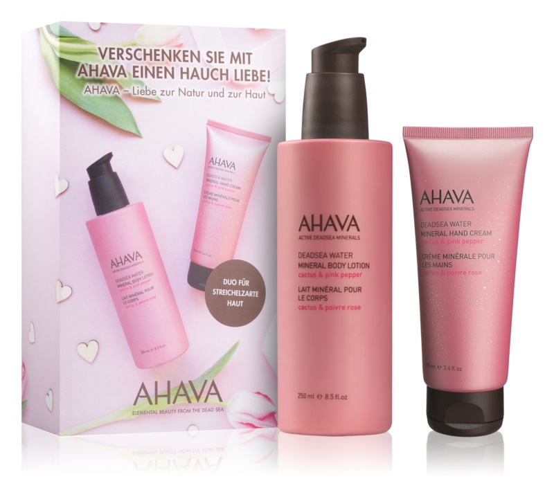 Ahava Dead Sea Water Cactus & Pink Pepper Kosmetik-Set  I.