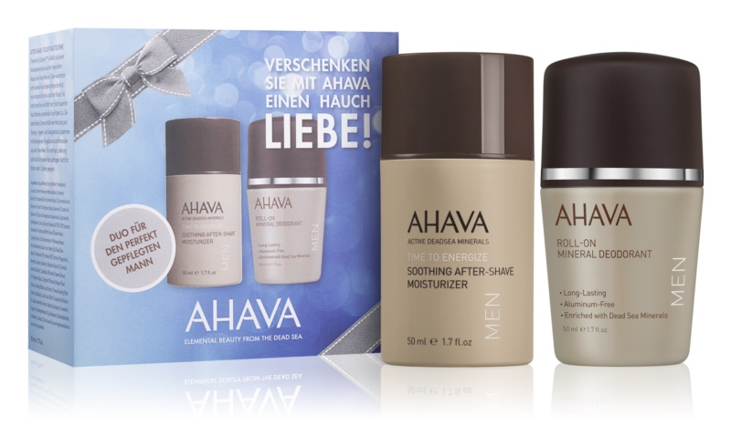 Ahava Time To Energize Men Kosmetik-Set  I.