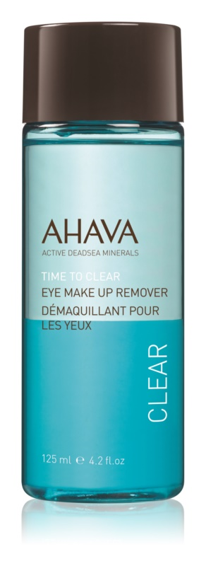 Ahava Time To Clear odličovač vodeodolného očného make-upu pre citlivé oči