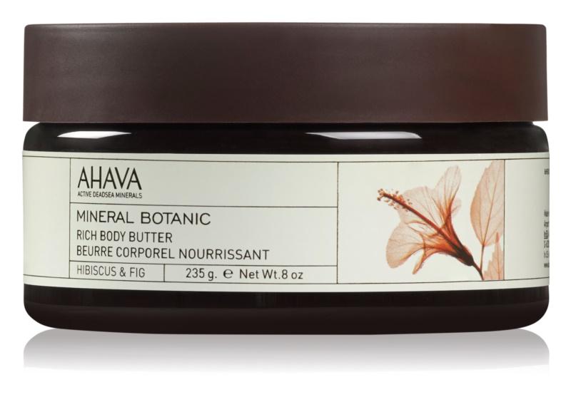 Ahava Mineral Botanic Hibiscus & Fig hranilno maslo za telo