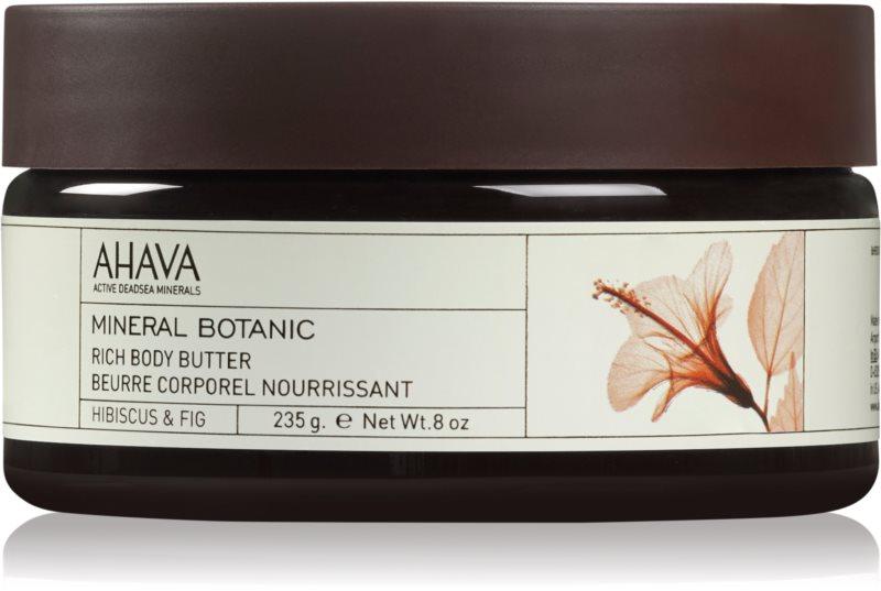Ahava Mineral Botanic Hibiscus & Fig nährende Body-Butter