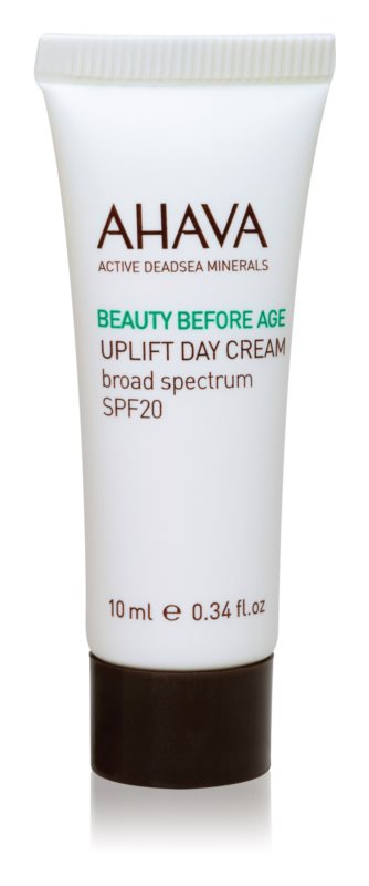 Ahava Beauty Before Age lifting krema za posvetlitev in zgladitev kože SPF 20