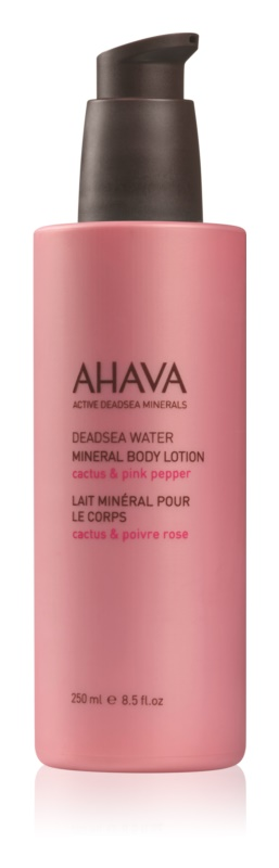 Ahava Dead Sea Water Cactus & Pink Pepper Körpermilch mit Mineralien