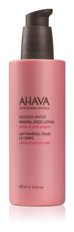 Ahava Dead Sea Water Cactus & Pink Pepper mleczko do ciała z minerałami