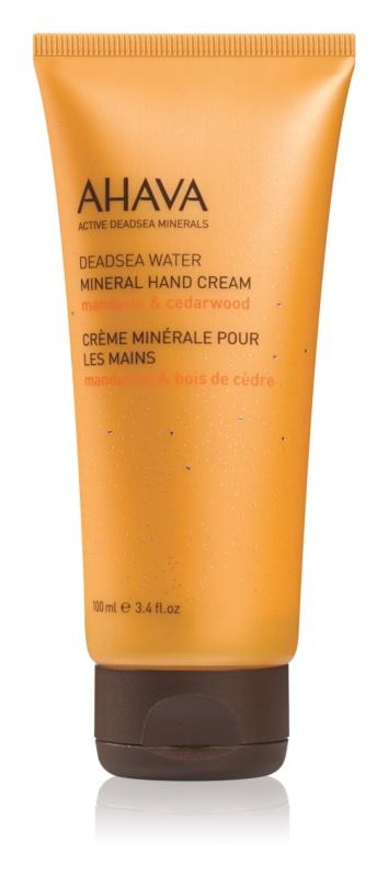 Ahava Dead Sea Water Mandarin & Cedarwood mineralna krema za roke