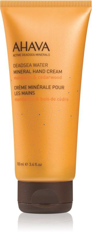 Ahava Dead Sea Water Mandarin & Cedarwood minerální krém na ruce