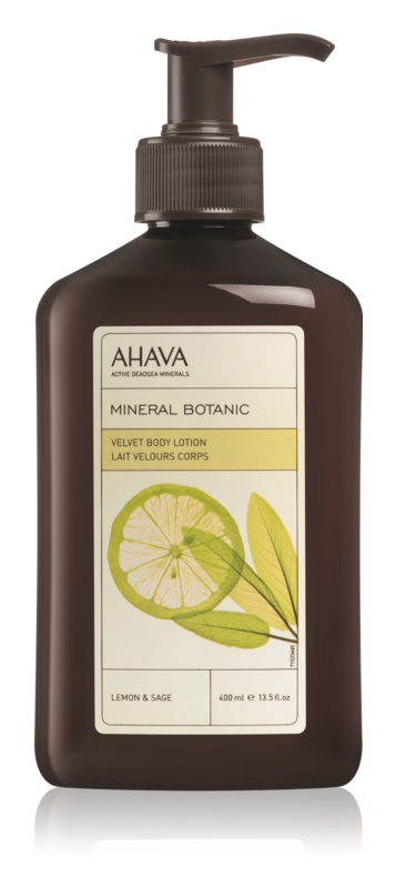 Ahava Mineral Botanic Lemon & Sage nježno mlijeko za tijelo