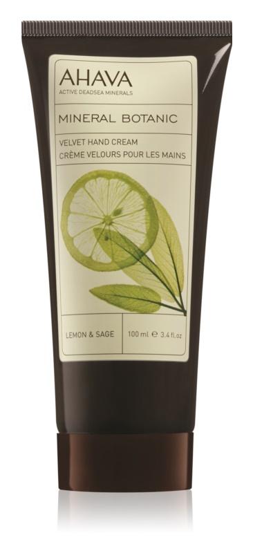 Ahava Mineral Botanic Lemon & Sage nježna krema za ruke