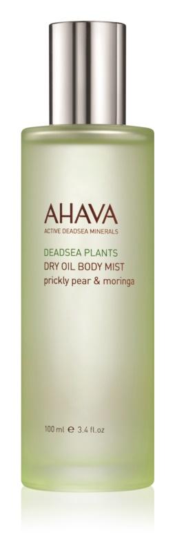Ahava Dead Sea Plants Prickly Pear & Moringa suchý telový olej v spreji