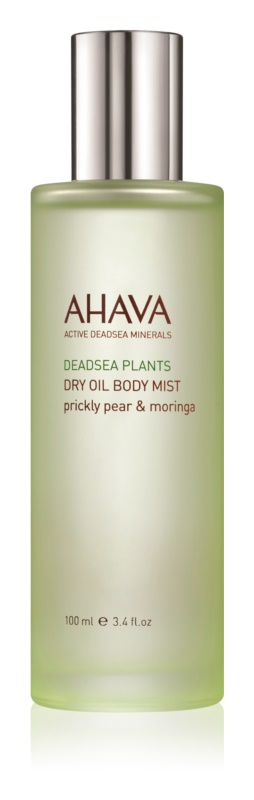Ahava Dead Sea Plants Prickly Pear & Moringa suchý tělový olej ve spreji