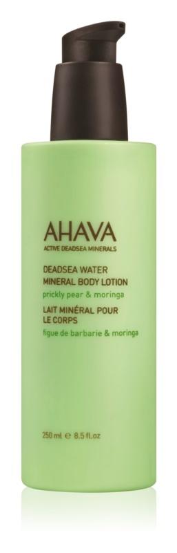 Ahava Dead Sea Water Prickly Pear & Moringa minerálne telové mlieko