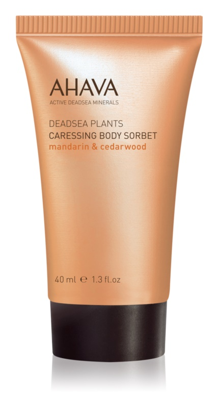 Ahava Dead Sea Plants Mandarin & Cedarwood pflegendes Body-Sourbet
