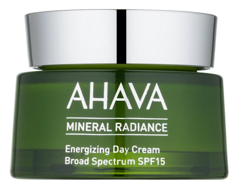 Ahava Mineral Radiance energetska dnevna krema SPF15