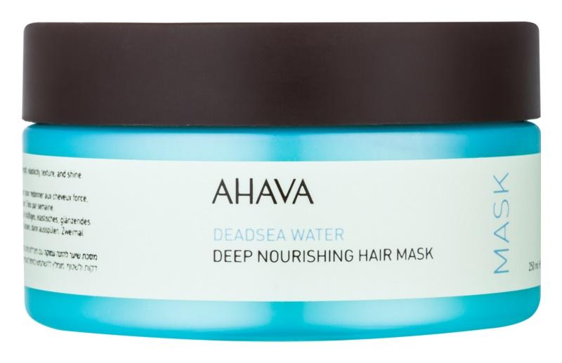 Ahava Deadsea Water tiefenwirksame nährende Maske für das Haar
