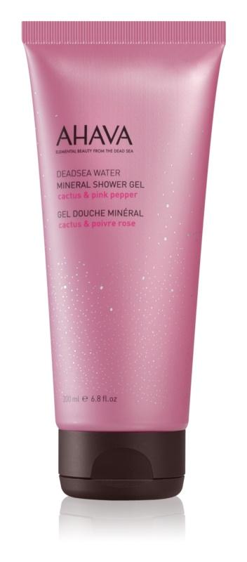 Ahava Dead Sea Water Cactus & Pink Pepper minerální sprchový gel