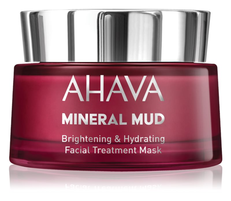 Ahava Mineral Mud posvjetljujuća maska za lice s hidratacijskim učinkom