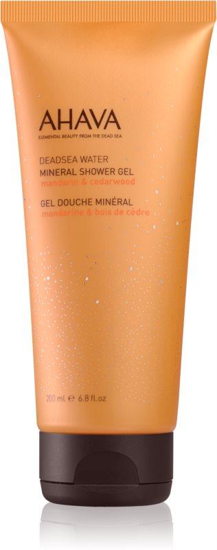 Ahava Dead Sea Water Mandarin & Cedarwood mineralni gel za prhanje