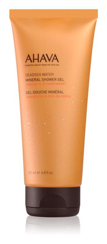 Ahava Dead Sea Water Mandarin & Cedarwood mineralny żel pod prysznic