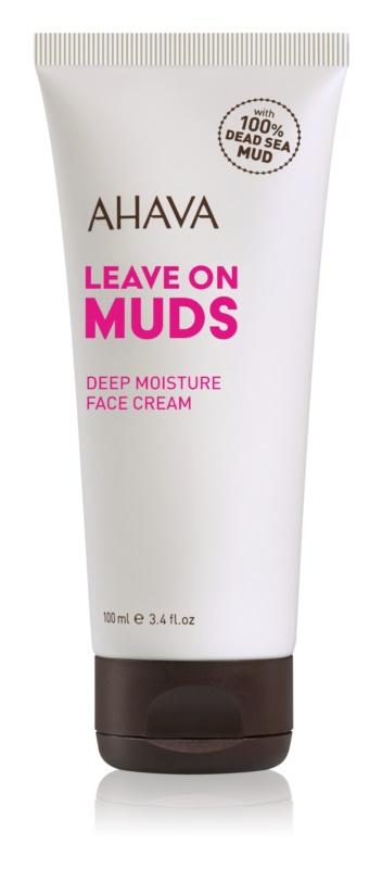 Ahava Dead Sea Mud krem głęboko nawilżający do twarzy