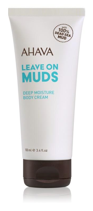 Ahava Dead Sea Mud hĺbkovo hydratačný krém na telo