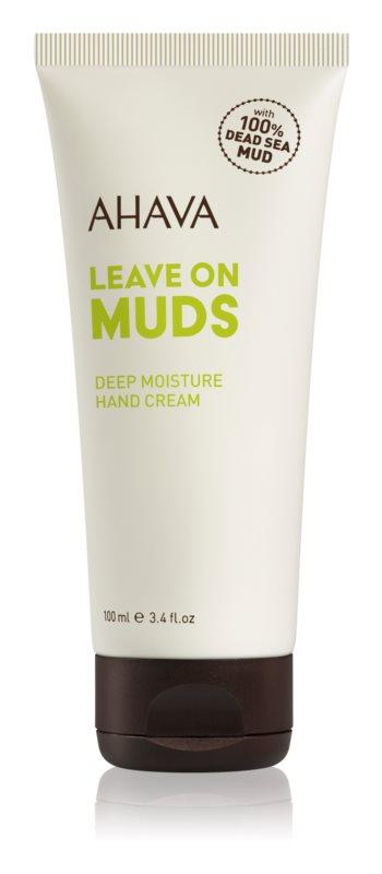 Ahava Dead Sea Mud globinsko vlažilna krema za roke