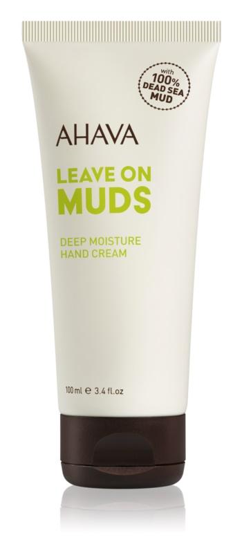 Ahava Dead Sea Mud hĺbkovo hydratačný krém na ruky