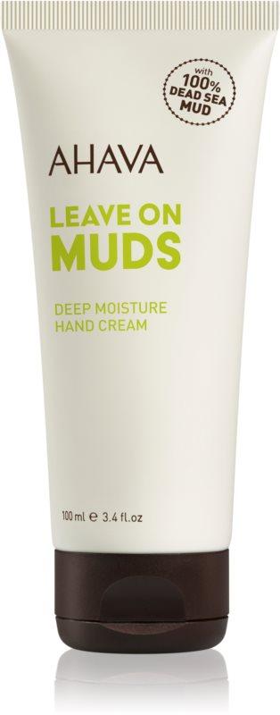 Ahava Dead Sea Mud krem głęboko nawilżający do rąk