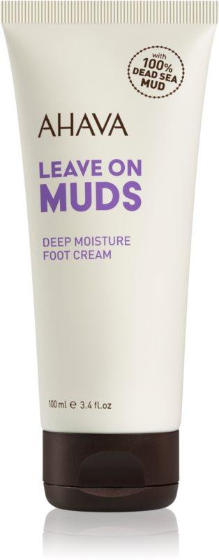 Ahava Dead Sea Mud hĺbkovo hydratačný krém na nohy