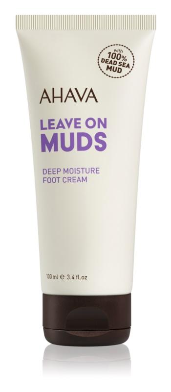 Ahava Dead Sea Mud hloubkově hydratační krém na nohy