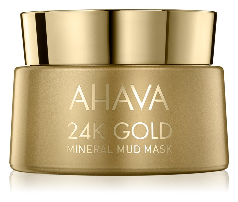 Ahava Mineral Mud 24K Gold minerálna bahenná maska s 24karátovým zlatom