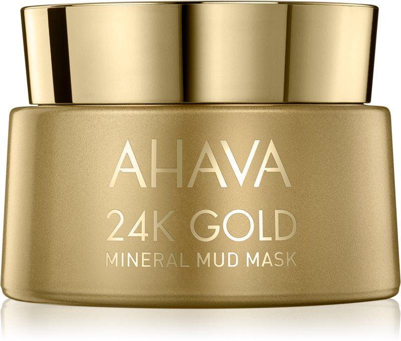 Ahava Mineral Mud 24K Gold mineralna blatna maska z 24-karatnim zlatom