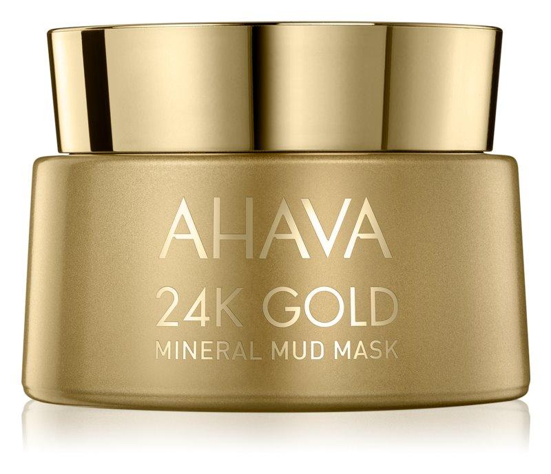 Ahava Mineral Mud 24K Gold minerální bahenní maska s 24karátovým zlatem
