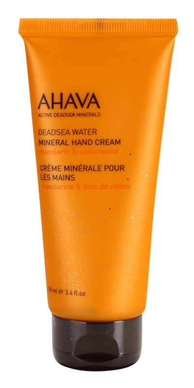 Ahava Deadsea Water Mandarin & Cedarwood krem mineralny do rąk