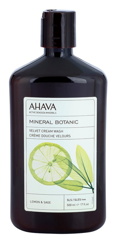 Ahava Mineral Botanic Lemon & Sage sanfte Duschcreme