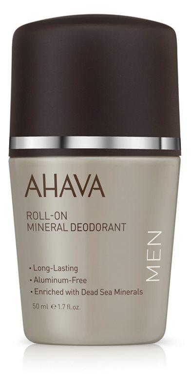 Ahava Time To Energize Men minerálny dezodorant roll-on
