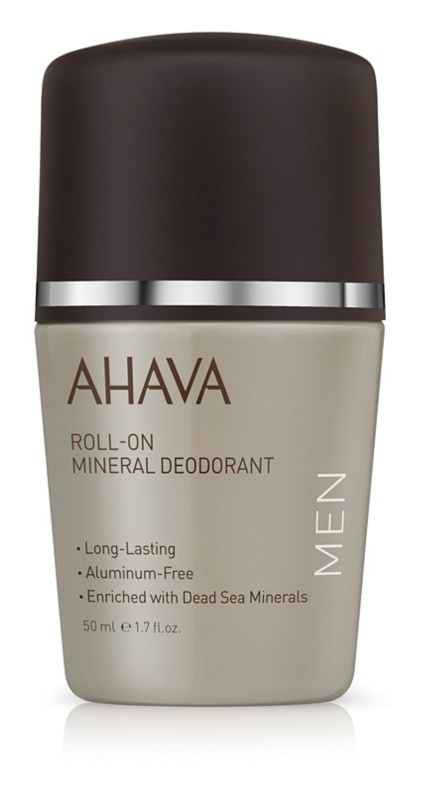Ahava Time To Energize Men minerálny dezodorant roll-on