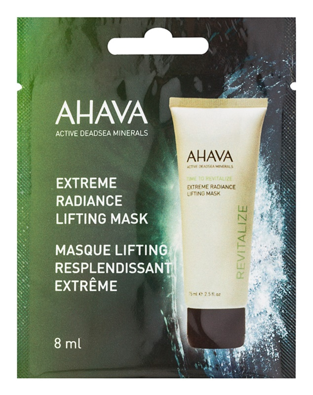 Ahava Time To Revitalize aufhellende Lifting-Maske