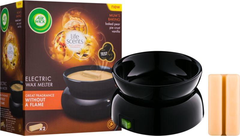 Air Wick Life Scents Mom´s Baking Lampă aromaterapie din sticlă 22 g + Ceară în lămpi aromatice