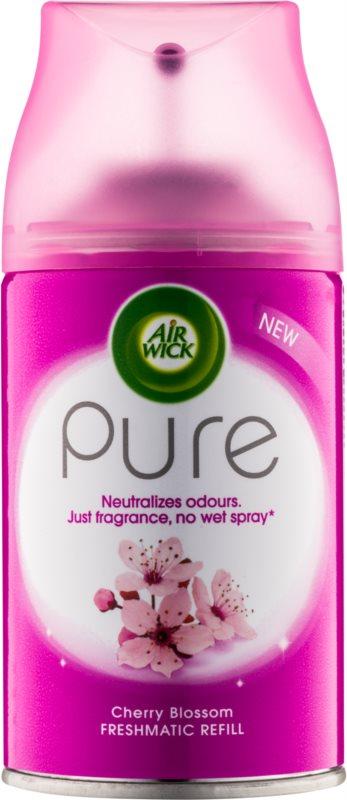 Air Wick Pure Cherry Blossom automatický osvěžovač vzduchu 250 ml náhradní náplň