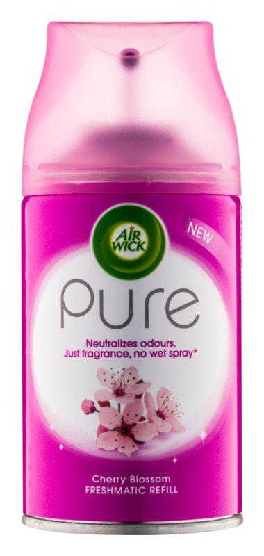 Air Wick Pure Cherry Blossom deodorante automatico per ambienti 250 ml ricarica