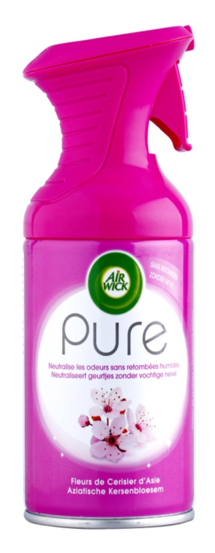 Air Wick Pure Cherry Blossom odświeżacz w aerozolu 250 ml