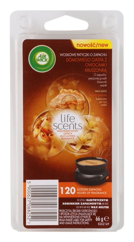 Air Wick Life Scents Mom´s Baking Duftwachs für Aromalampe 66 g