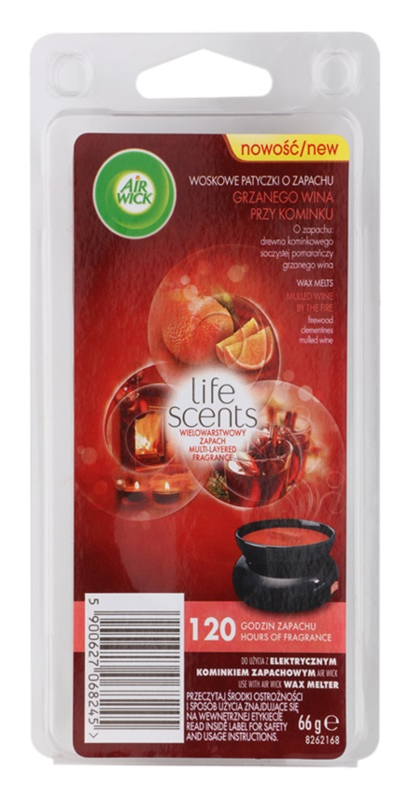 Air Wick Life Scents Mulled Wine by the Fire ceară pentru aromatizator 66 g