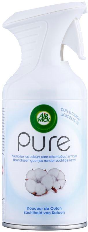Air Wick Pure Soft Cotton bytový sprej 250 ml