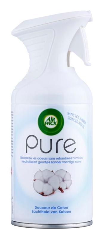 Air Wick Pure Soft Cotton pršilo za dom 250 ml