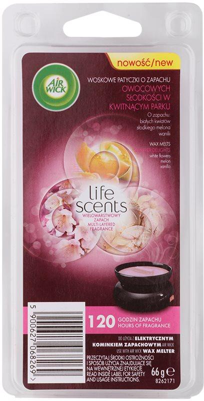 Air Wick Life Scents Summer Delights cera per lampada aromatica 66 g