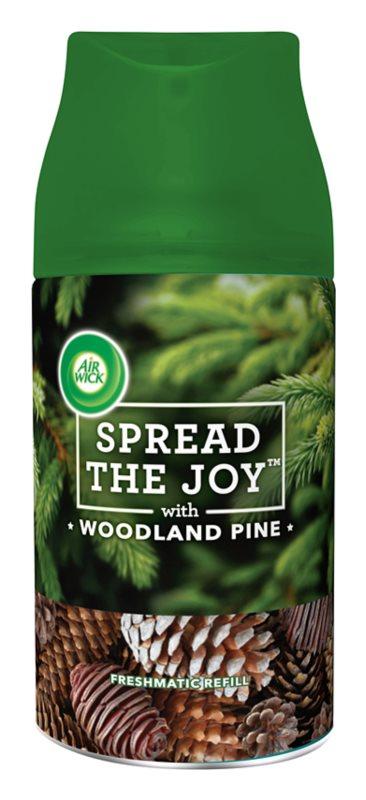 Air Wick Spread the Joy Woodland Pine automatski osvježivač zraka 250 ml zamjensko punjenje